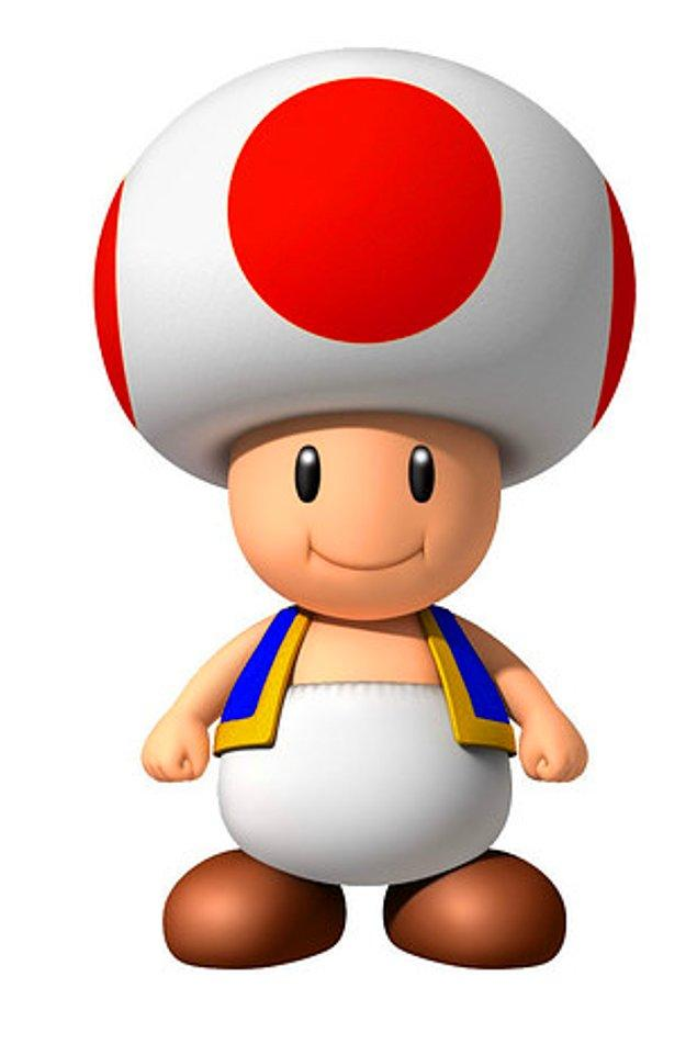2. 'Mario Kart'taki Toad