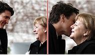 Angela Merkel de Justin Trudeau'ya Bakıp İç Geçirenler Listesine Dahil Oldu!