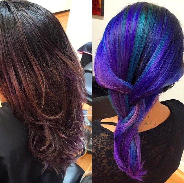 13. Deniz kızı saçı.🌊😍