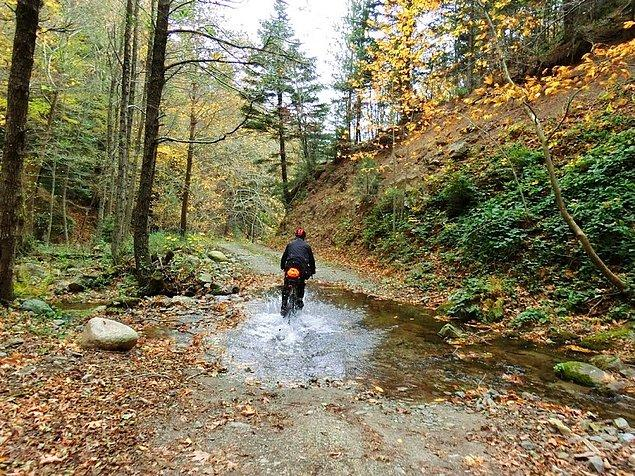 30. Bu dağ, bu taş, bu su, bu toprak bizim, bunun dilini en iyi anlayanlardır bisikletçiler.