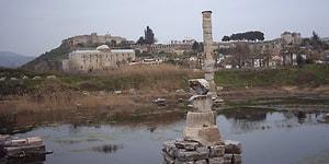 Tarihe Bakış Açısı: 'Dünyanın Yedi Harikası'ndan Biri Olan Artemis Tapınağı 'Bataklığı' Andırıyor