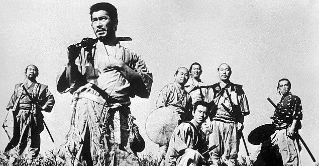 6. Yedi Samuray (1954)  | IMDb 8.7