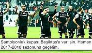 Beşiktaş'ın Galibiyetinden Sonra Taraftarlarda Şampiyonluk Havası Estiren 16 Tweet
