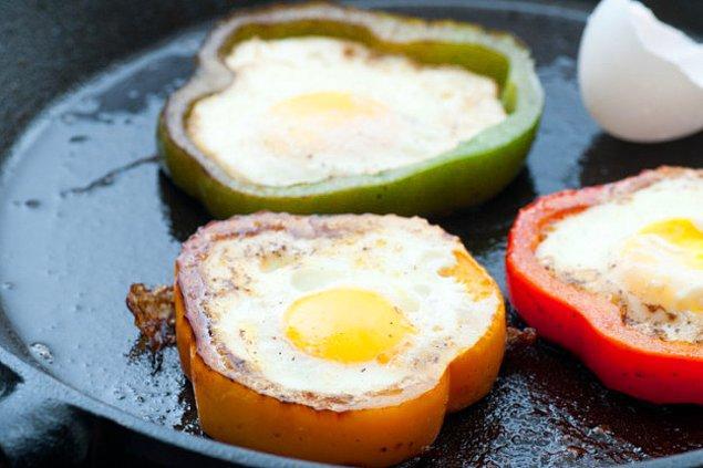 15. Yumurtayı banıp yemek isterseniz...