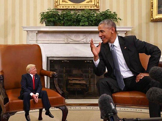 Minik Trump önemli konuşmalara katılırken...