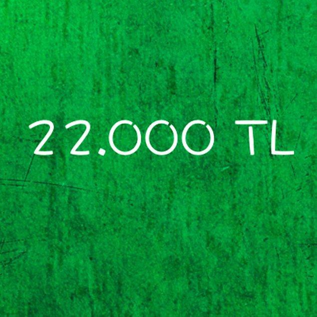 22.000 TL!