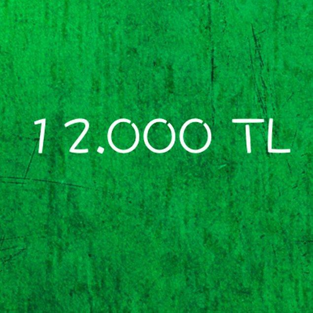 12.000 TL!