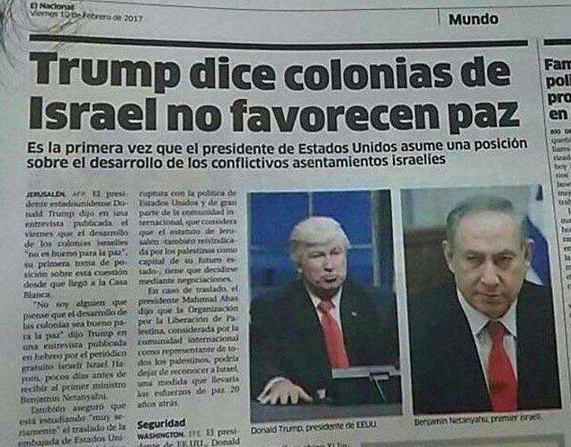 13. Dominik gazetesi Donald Trump'ın fotoğrafı diye Alex Baldwin'i koymuş...
