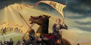 İngiltere'ye Karşı Direnişle Ülkesini Savunan Bir Fransız Azizesi: Jeanne d'Arc
