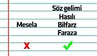 Yaşasın Türkçe! Yaygın Kelimeler Yerine Kullanılabilecek Alternatif ve Nadir Kelimeler