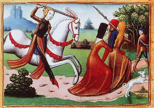 16 yaşına geldiğinde evden kaçarak Fransa Kralı VII. Charles'ın huzuruna kadar gitti.