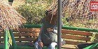 Parkta Sevişirken Polis Gelince Topuklayan Çift