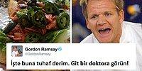 Deliliğiyle Ün Salmış Şef Gordon Ramsay'nin Twitter Üzerinde Yemeklerini Gömdüğü 17 Kurban