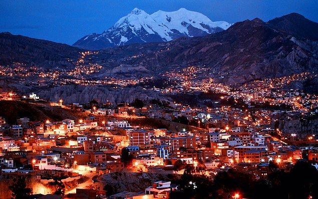 5. La paz, Bolivya