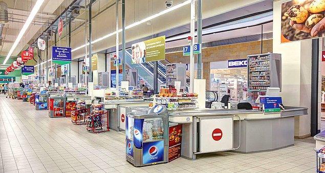 12 kasalı bir market düşünelim ve hesaplayalım: