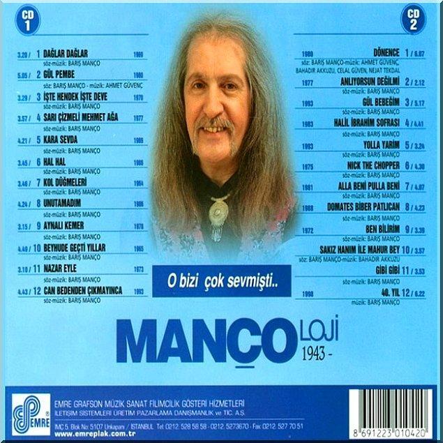 5. Barış Manço müzik hayatının en iyi şarkılarını topladığı Mançoloji albümünün hazırlıklarına başlamıştı.