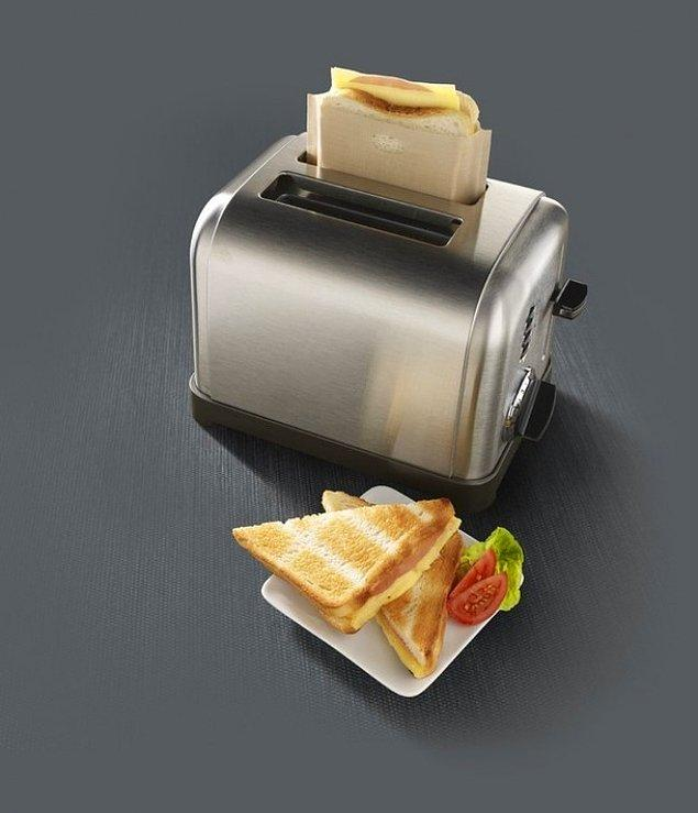12. Kağıtlı tost makinesi