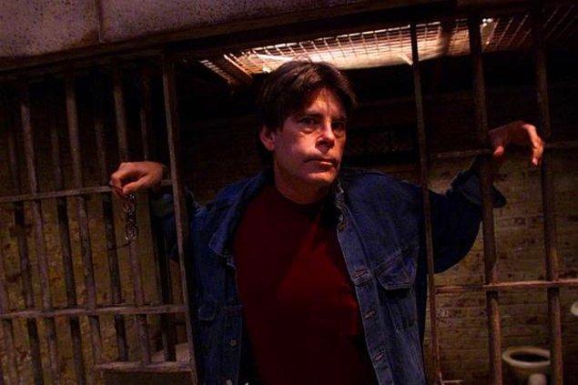 7. Film setini ziyareti sırasında Stephen King elektrikli sandalyeye oturmak istemiş.