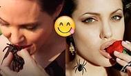 Acımadan Çatır Çutur Yedi ve Yedirdi: Angelina Jolie'nin Örümcek ve Akrep Ziyafeti