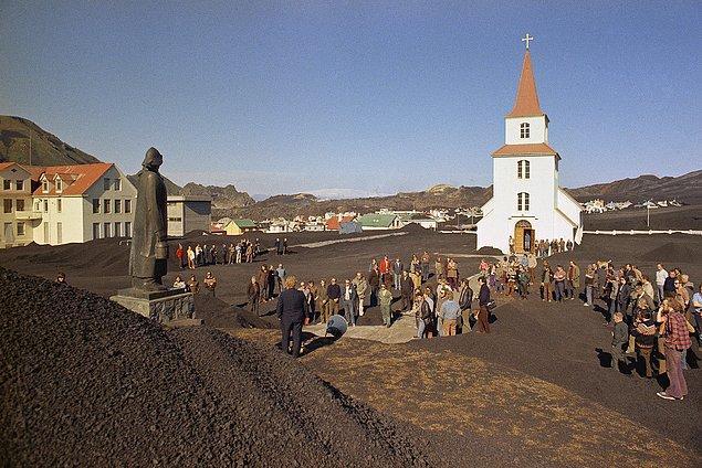 21. Kilise, adada patlama sonrası sağlam kalan nadir yapılardan biri.
