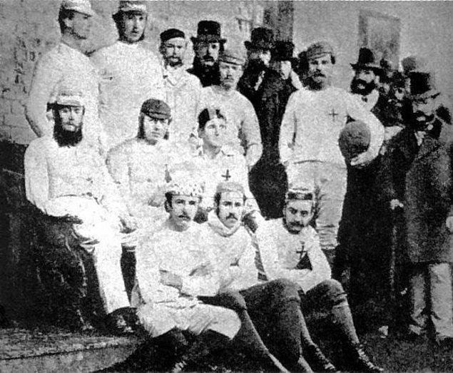 Kurulan ilk futbol takımı: Sheffield Football Club