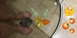 Akılları Baştan Alan Keyifli Trend: Sıcak Duş Alırken Buz Gibi Soğuk Portakal Yemek!