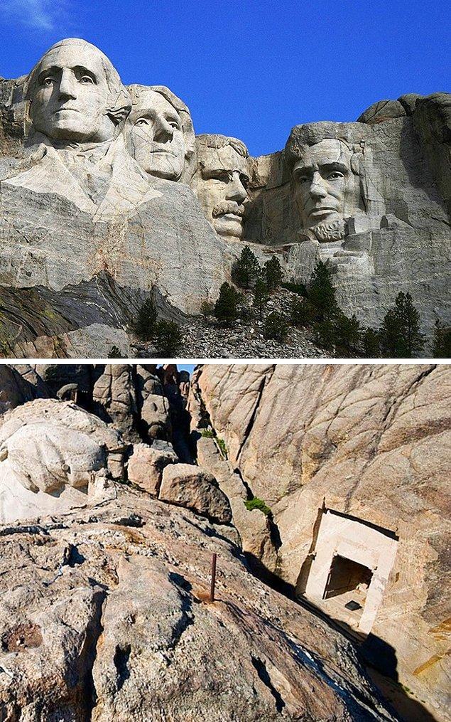 4. Rushmore Dağı'ndaki zaman kapsülü