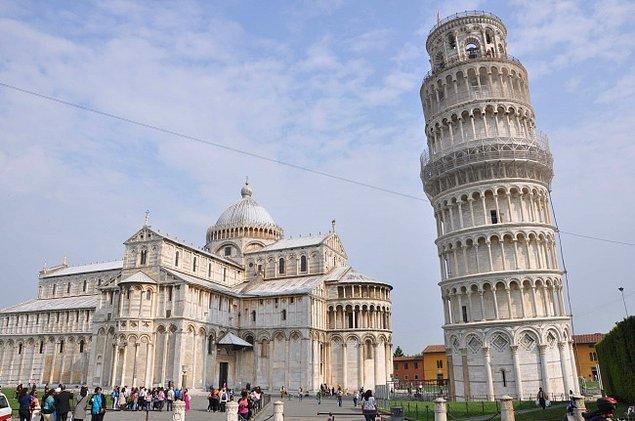 7. Pisa Kulesi'nin oluşumu