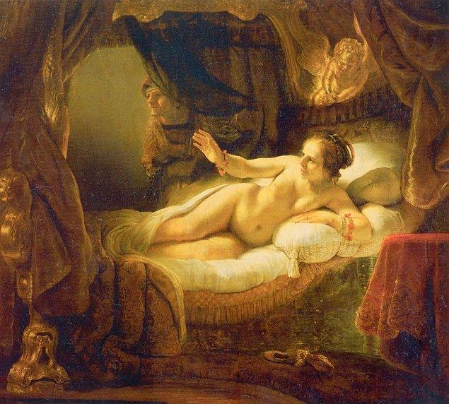 8. Rembrandt'ın Danaë eserinin yüzü
