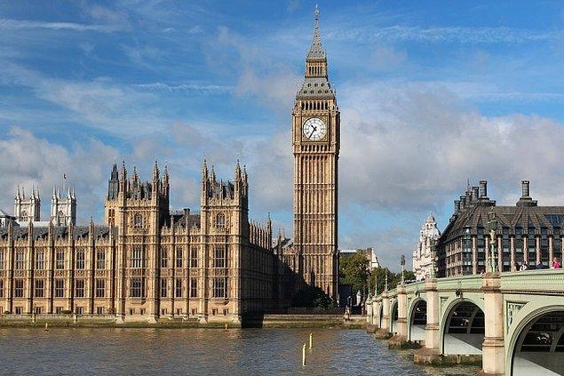 9. İngiltere'de turistlerin en çok ilgisini çeken yerin adı