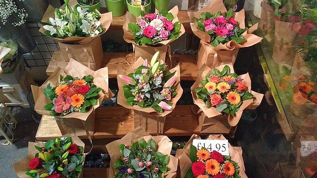 6. En son ne zaman çiçek aldın?