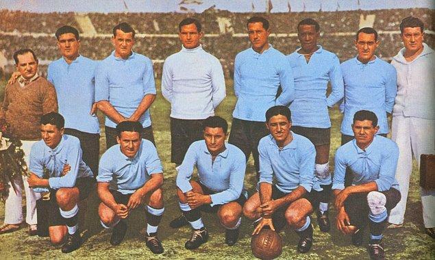 İlk Dünya Kupası şampiyonu Uruguay (1930)