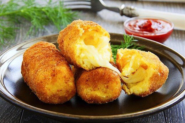 8. Oh bahsettiğimiz, yağ ve kalori tam da bu kroketlerde var!