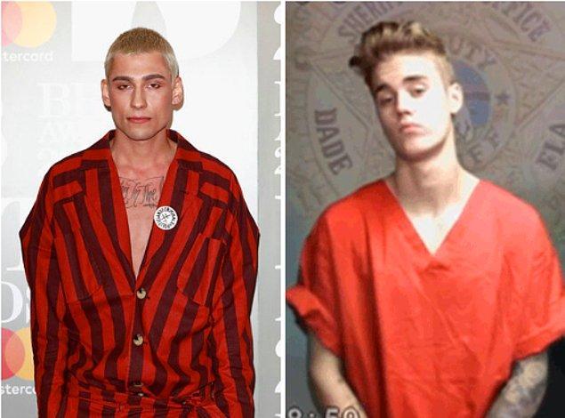 21. Kyle De'volle Justin Bieber'ın sabıka fotoğrafı görüntüsünün baya bir etkisinde kalmış galiba.