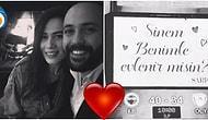 Çıta Daha da Yükseliyor! Sarp Akkaya'dan Sevgilisi Sinem Yalçınkaya'ya Sürpriz Evlilik Teklifi