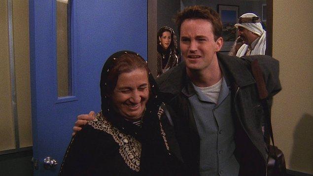 4. Chandler'ın Janice'a Yemen'de mektup atması için verdiği adres?