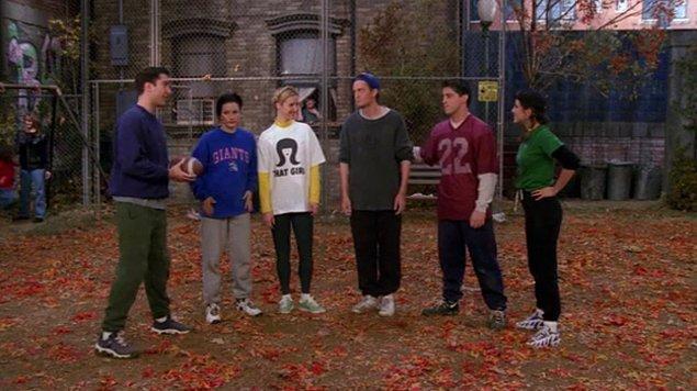 5. Amerikan futbolu oynadıkları bölümdeki takımlar kim kimdi?