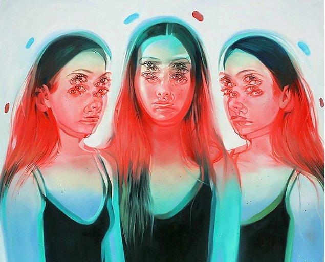 Görsel Sanatlar mezunu olan Alex Garant portreleri ile adeta herkesi büyülüyor.