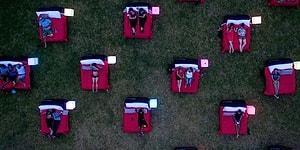 Keyfin Böylesi! Sidney'de Bulunan Yataklı Açık Hava Sineması