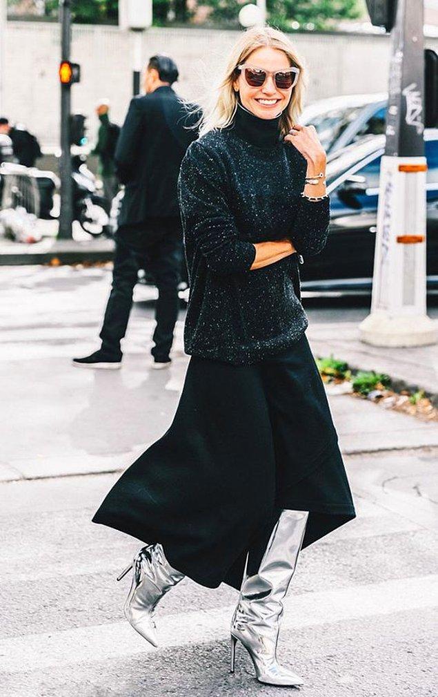 Önce sadece moda duayenleri ve bloggerları tarafından tercih edilen bu trend; zamanla mağazalardaki raflarda yerini almaya başladı.