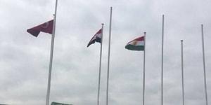 Barzani'nin Ziyareti Sebebiyle Havalimanında IKYB Bayrağının Göndere Çekilmesi Sosyal Medyanın Gündeminde
