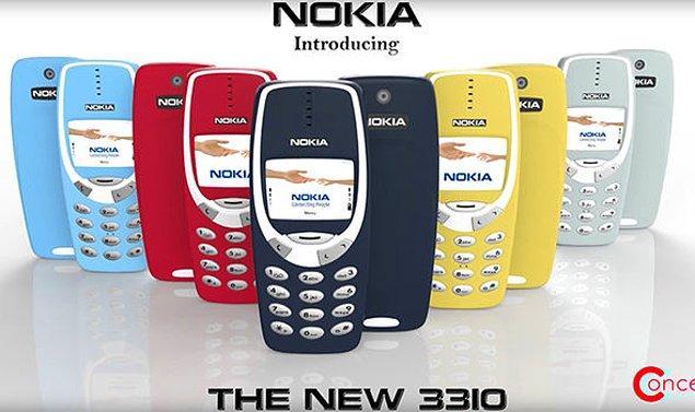 2. Kimileri de telefonun ünlü kasasının birebir kullanılacağını ve sadece renkli ekran ve kamera ekleneceğini düşündü.