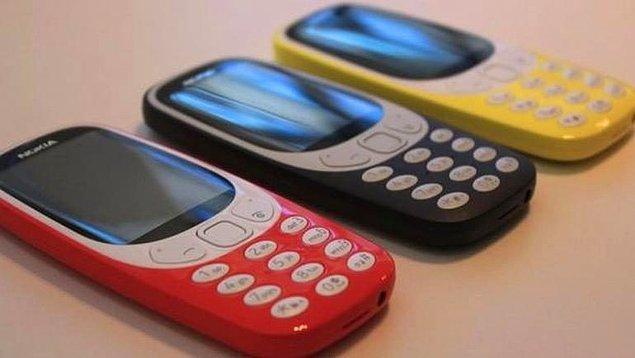 4. İşte karşınızda 2017 model Nokia 3310!
