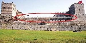 UNESCO Dünya Mirası Listesi'nde Bulunan Tarihi Surlara Portatif Çatılı Düğün Salonu
