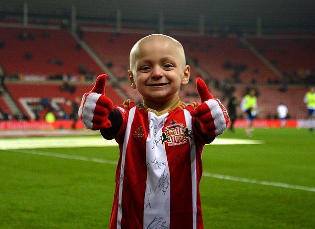 Futbol sevgisiyle bilinen Bradley, İngiltere'nin 26 Mart'ta Wembley stadında Litvanya'yla yapacağı maçta milli takımla sahaya çıkacak.