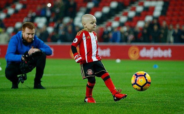Ailesi bu hafta Bradley'de yeni bir tümör görüldüğünü açıklamıştı.