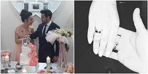Evlilik Yolunda İlk Adım Atıldı: Rüzgar Erkoçlar ve Sevgilisi Tuğba Beyazoğlu Nişanlandı!