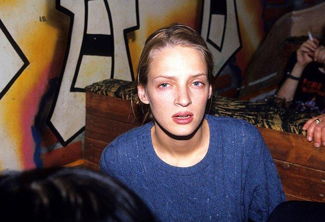 21. Uma Thurman Z Bar'da, 1994.