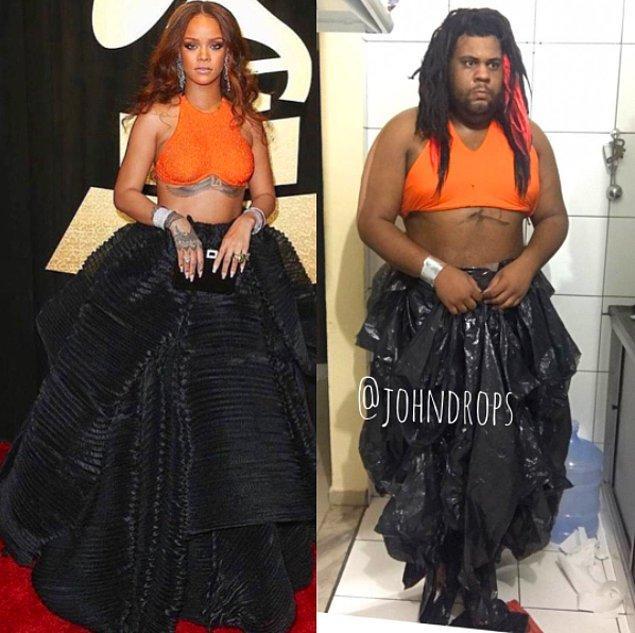 12. Baksanıza hangisi Rihanna anlayamadık. 😂