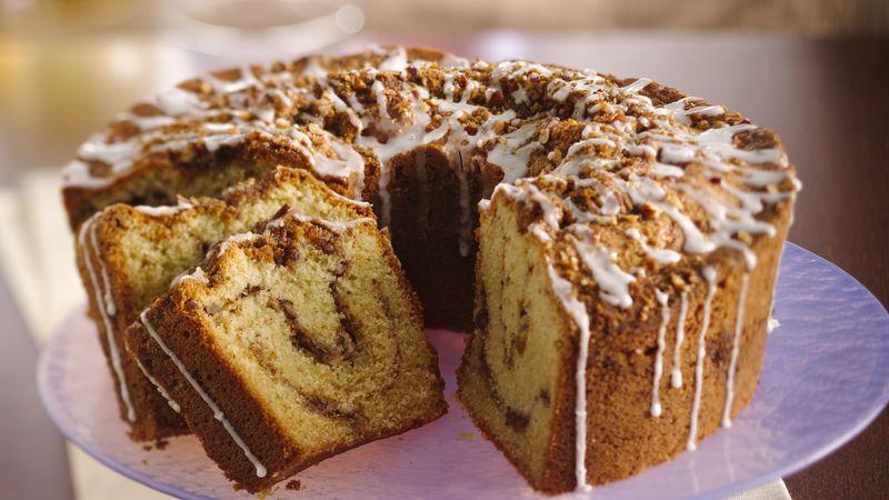 Cinnamon Walnut Pound Cake Without Sour Cream